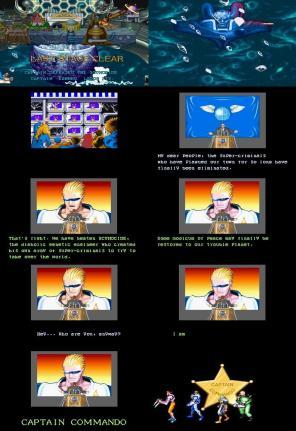 I am Captain Commando. E o final desconhecido na versão para Super NES.