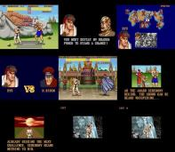 Sagat, M. Bison e o final totalmente diferente na versão para Super NES.