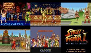 Os créditos finais e o pôster contendo todos os personagens.