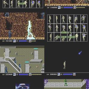 Antes da fase iniciar, introduções animadas divertem o jogador. Logo nas três últimas fotos, a estrela cadente faz MJ transformar-se em Robô, a melhor das transformações.