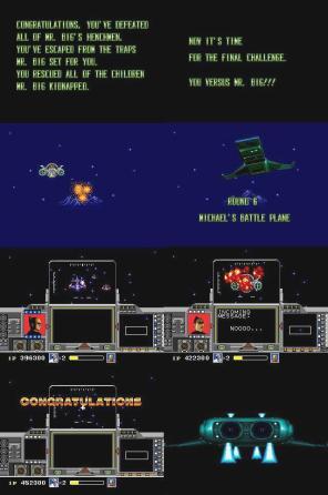 O confronto entre o jogador e Mr. Big, a caçada estelar.