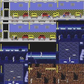 No estágio 2: Streets, todas as etapas passam na garagem, o elevador não tem porta. Em Woods, zumbis são derrotados com apenas um golpe.