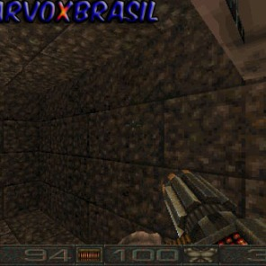 Um ponto engraçado é esta arma que vemos na foto. Ela é muito parecida com uma arma do primeiro Unreal, também para PC. Se Chasm foi lançado em 1997, e Unreal em 1998, quem copiou quem?
