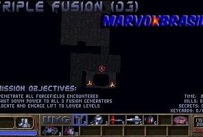 A Accolade não esqueceu do mapa. Muito importante para encontrar caminhos. Ao todo são 15 armas diferentes cada uma com seu próprio estilo de munição.