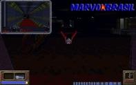 Outra das armas inusitadas é essa. Uma espécie de morcego-bomba, você controla a direção do morcego e quando avistar seu inimigo encoste e exploda.