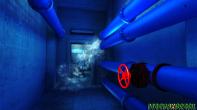 O jogo possui alguns puzzles para resolver e assim garantir seu progresso pela área.