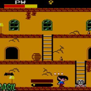 Jogo típico do estilo Maze em 2D bem famoso nos 8-bits da Sega. Você controla um garoto caçador de vampiros por várias mansões, em cada uma existem 5 vampiros que saem dos sarcófagos que estão sempre trancados, é preciso coletar uma chave por vez para libertar os vampiros. O marcante é que tudo é resolvido na base do soco. A música de abertura marca também por ser meio sinistra, começa em volume baixo e pouco a pouco o volume aumenta e aparece um brilho vermelho sangue para preencher o nome do jogo que aparece na abertura.