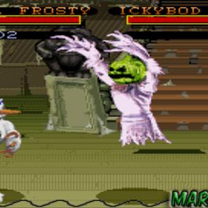 De repente começou-se uma ideia de querer fazer jogos com personagens feitos de massinhas de modelar. Isso ficou muito legal neste jogo de luta carismático que reúnem criaturas que parecem ter saído de vários filmes de terror. O personagem mais marcante é o malígno boneco de neve chamado Bad Mr. Frosty, tem também o palhaço Bonker, a cantora de ópera Helga e não dá para esquecer do fantasma com cabeça de abóbora.
