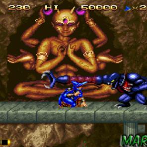 Se tem um jogo feroz e com cenários cheios de veneno que instiga o jogador esse é Magician Lord. Jogo fantástico onde controlamos um feiticeiro chamado Elta, que pode transformar-se em até 6 personagens diferentes, tudo por meio de esferas mágicas coletadas ao eliminar inimigos durante as fases. As transformações vão desde um dragão guerreiro que solta uma rajada de fogo pela boca, um ninja no estilo Shinobi, Samurai, Poseidon e conforme o jogador toma danos, essas transformações regridem, até voltar ao normal como feiticeiro e por fim, se o dano continuar, morre. Tem fase que acontece dentro do estômago de algum bicho. A trilha sonora empolga, bem no estilão fliperama mesmo e os chefões é para sentar o dedo na parede e o controle na porrada.