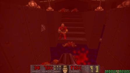 A partir da 3ª fase os novos inimigos são apresentados. Os Chaingunners utilizam a mesma metralhadora do fuzileiro.