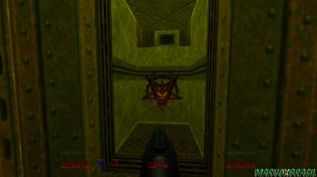 Demon Key, ao todo existem 3 delas para coletar e cada uma está guardada nas bases secretas.