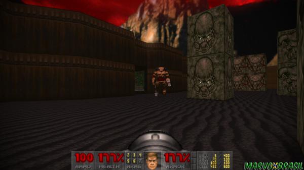 Cyberdemon, o chefão da Torre de Babel.