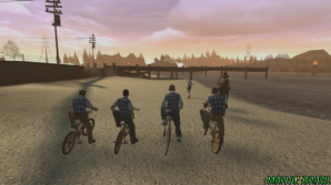 Competição de bicicleta