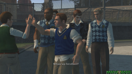 O convívio com os outros alunos