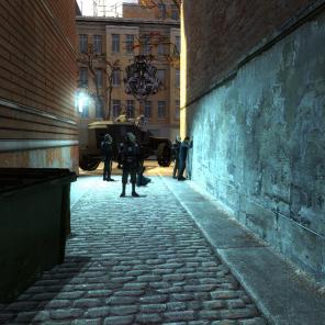 Os Combines são policiais e soldados muito bem armados e que intimidam qualquer jogador.