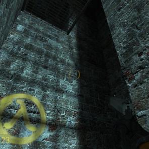 Encontre as áreas com o símbolo Lambda, nelas é possível encontrar objetos preciosos para aumentar a sua energia e munição.