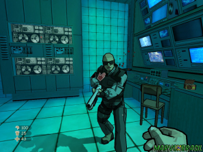 Desarme os inimigos que acham que podem apontar armas contra você.