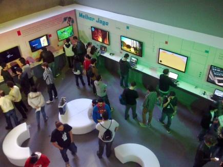 Evento independente de jogos de videogames e computadores.
