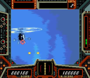Cobra Command, Sega-CD