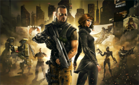 Ben Saxon e Anna Kelso - Deus Ex: The Fall