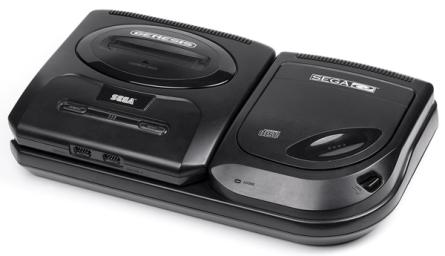 Sega-CD junto com o Mega Drive