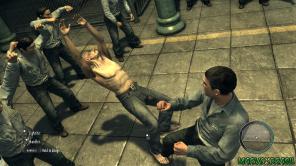 Os momentos de briga trazem sequência de botões e oportunidades para desvencilhar Combos.