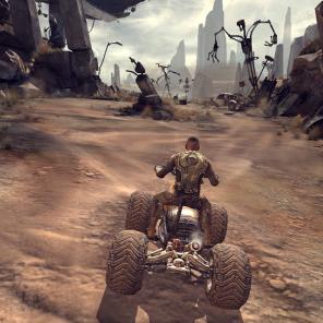 Jatter ATV será o seu primeiro veículo.