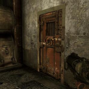 Esta porta possui uma tranca especial, descubra como abrir e encontre objetos valiosos. Existem várias delas espalhadas pelas fases.