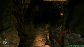 Uma arma de pregos remodelada e com tiros secundários, uma homenagem a Nail Gun de Quake.