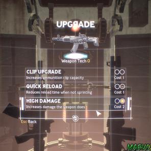 Encontre os globos que armazenam a substância do E-99 e realize upgrades em seus equipamentos.