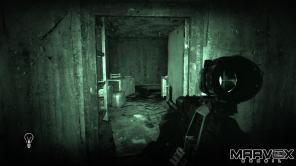 A visão noturna faz o jogo parecer o filme REC.