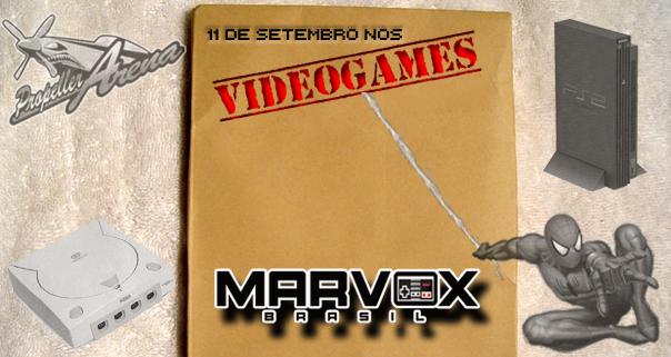 MarvoxBrasil 11 de Setembro nos VideoGames