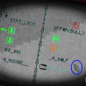 Existem enigmas que aparecerá alguém para tentar atrapalhar o jogador, como vemos no círculo azul, uma mãozinha que vai empurrar os símbolos após cada movimento seu.