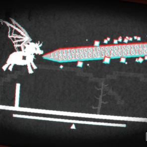 Me dê sua força Pégasuuuus, através dos enigmas o jogador descobre como ativar asas e fazer o unicórnio soltar laser pela boca.