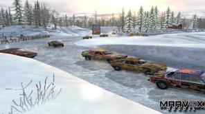 As pistas de neve é o modo hard entregue de bandeija para o jogador, em compensação o cenário é muito bonito.