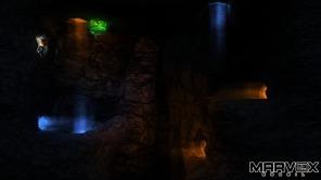"""A caverna do """"buraco sem fundo"""" e que pode fazer o jogador dar voltas e mais voltas para encontrar a saída."""