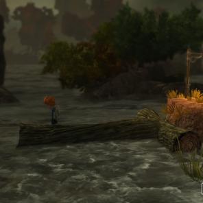 Olhando assim, a criatura na água parece inofensiva.