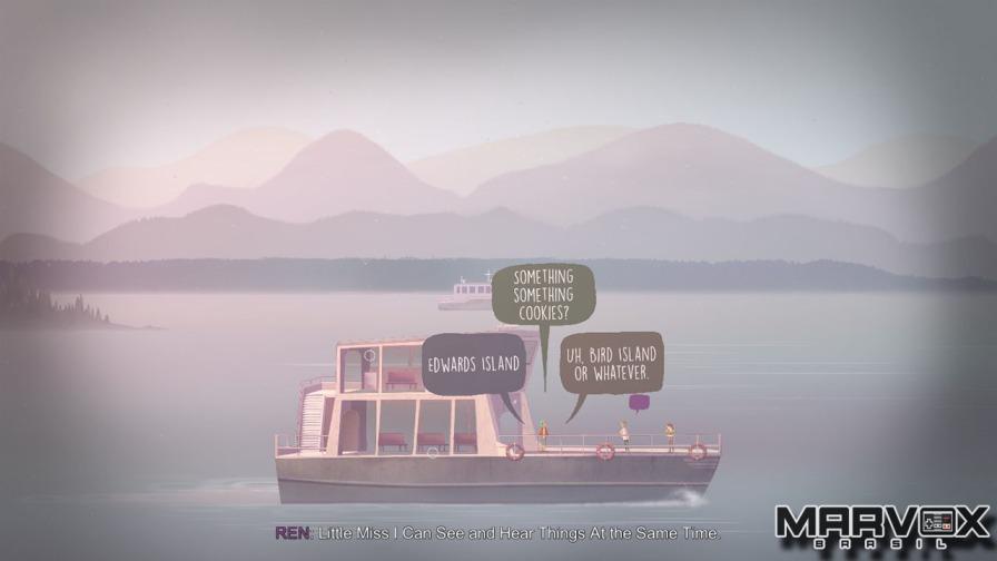 Desde o primeiro momento o jogador toma o controle da narrativa.