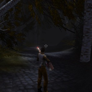 Encontre as peças necessárias durante os capítulos para conseguir montar o poderoso lança-chamas.